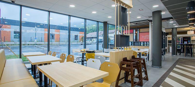 Développement hôtelier - B&B Annemasse restaurant salle