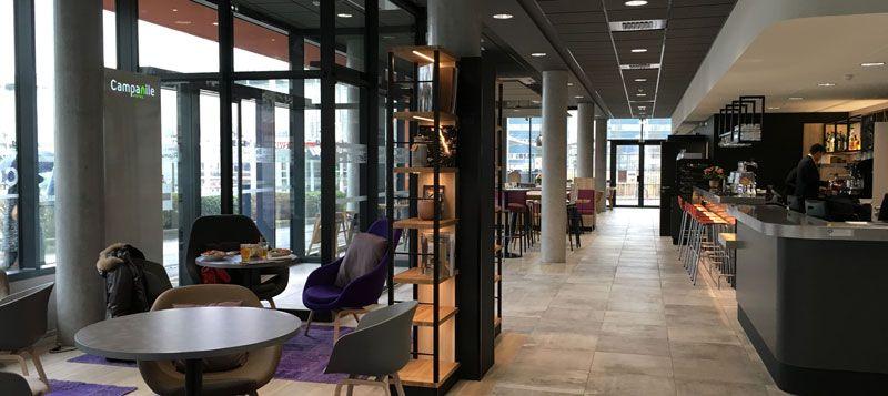 Développement hôtelier - Campanile Le Mans Gare TGV - salle 2
