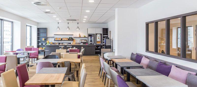 Développement hôtelier - Hotel Metz Gare TGV - restaurant