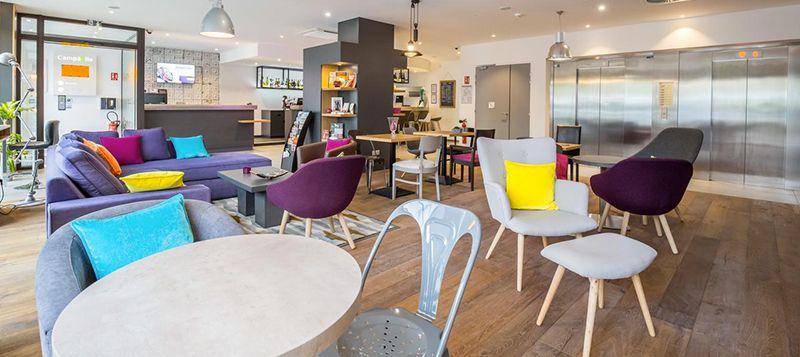 Développement hôtelier - Hotel Metz Gare TGV - réception